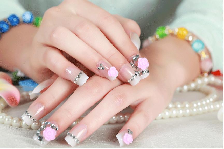 Nails 3D Flowers
